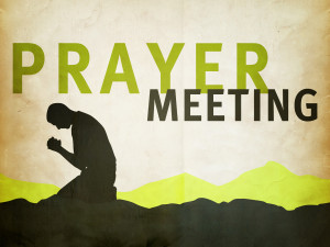 Prayer Meeting (6:45pm)